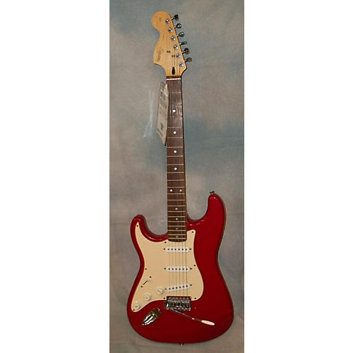 Squier Standard Series Stratocaster Left Handed Electric Guitar-thumbnail