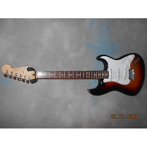 Fender Standard Stratocaster 2 Tone Sunburst Solid Body Electric Guitar-thumbnail
