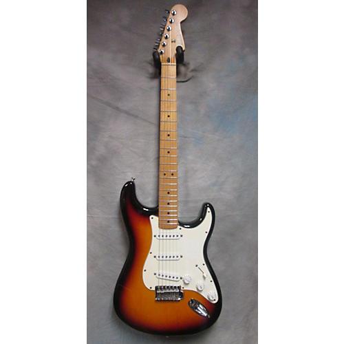 Fender Standard Stratocaster 2 Tone Sunburst Solid Body Electric Guitar-thumbnail