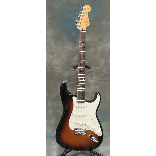 Fender Standard Stratocaster 3 Color Sunburst Solid Body Electric Guitar-thumbnail