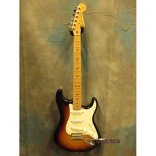 Fender Standard Stratocaster 3 Color Sunburst Solid Body Electric Guitar