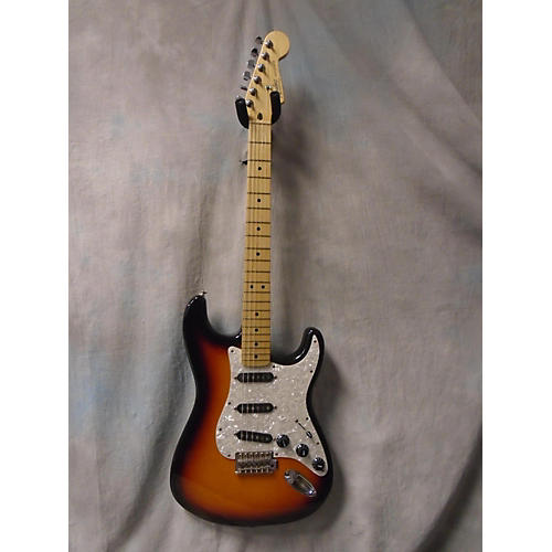 Fender Standard Stratocaster 3 Tone Sunburst Solid Body Electric Guitar-thumbnail
