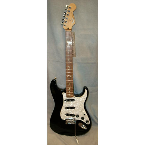 Fender Standard Stratocaster Black Solid Body Electric Guitar-thumbnail