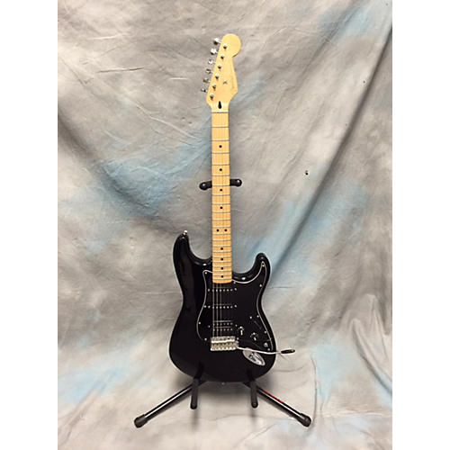 Fender Standard Stratocaster Black Solid Body Electric Guitar