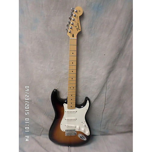 Fender Standard Stratocaster Brown Sunburst Solid Body Electric Guitar-thumbnail