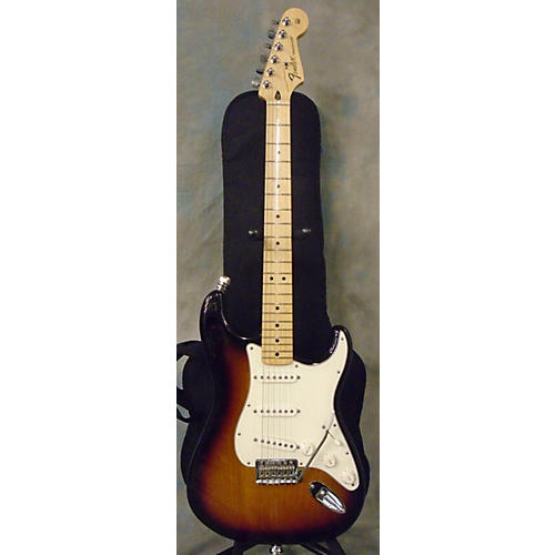 Fender Standard Stratocaster Brown Sunburst Solid Body Electric Guitar Brown Sunburst