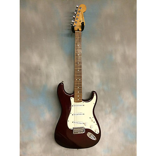 Fender Standard Stratocaster Burgundy Solid Body Electric Guitar