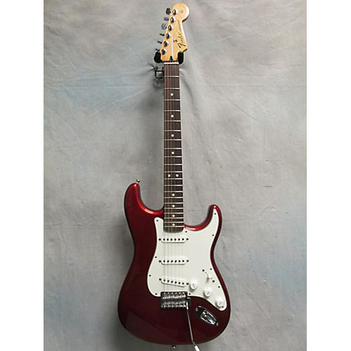Fender Standard Stratocaster Candy Apple Red Solid Body Electric Guitar