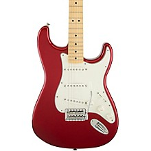 Standard Stratocaster Electric Guitar with Maple Fretboard Candy Apple Red Gloss Maple Fretboard