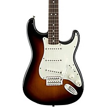 Standard Stratocaster Electric Guitar with Rosewood Fretboard Brown Sunburst Rosewood Fretboard