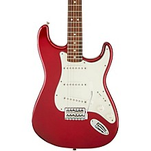 Standard Stratocaster Electric Guitar with Rosewood Fretboard Candy Apple Red Rosewood Fretboard