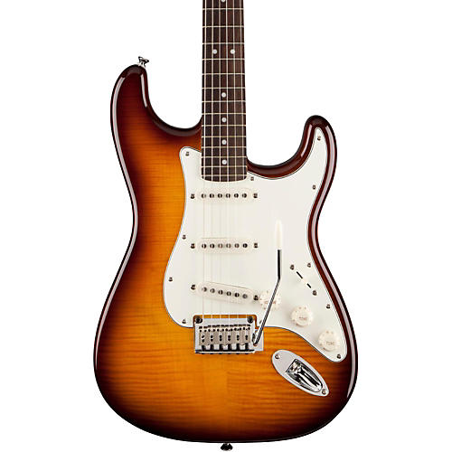 Squier Standard Stratocaster FMT Transparent Amber