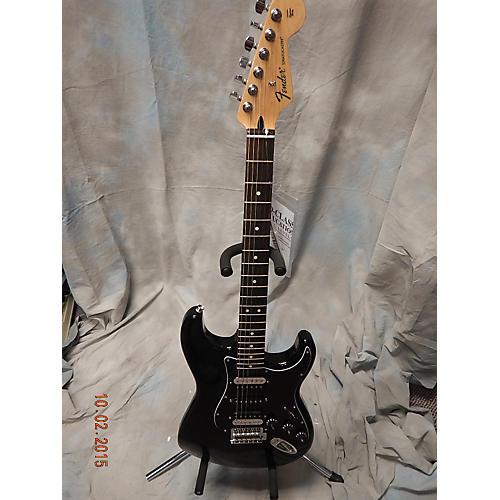 Fender Standard Stratocaster HSH Black Solid Body Electric Guitar