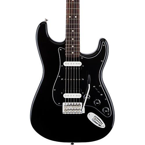 Fender Standard Stratocaster HSH Rosewood Fingerboard Electric Guitar Black