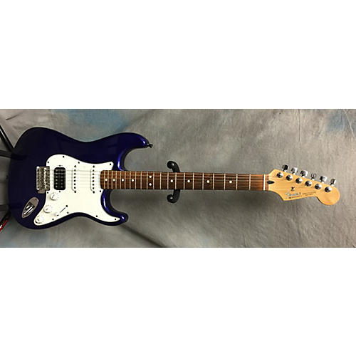 Fender Standard Stratocaster HSS Blue Solid Body Electric Guitar