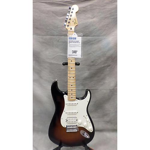 Fender Standard Stratocaster HSS Brown Sunburst Solid Body Electric Guitar-thumbnail