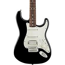 Standard Stratocaster HSS Electric Guitar Black Rosewood Fretboard