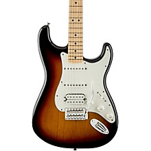 Standard Stratocaster HSS Electric Guitar Brown Sunburst Gloss Maple Fretboard