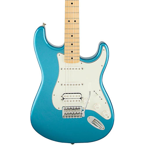 Fender Standard Stratocaster HSS Electric Guitar Lake Placid Blue Gloss Maple Fretboard-thumbnail