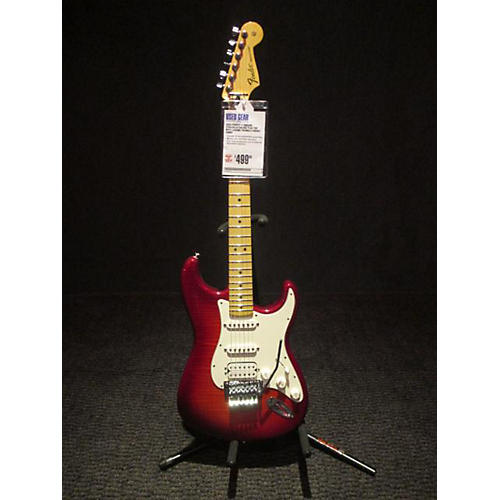 Fender Standard Stratocaster HSS Plus Top With Locking Tremolo Solid Body Electric Guitar
