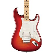 Fender Standard Stratocaster HSS Plus Top with Locking Tremolo, Maple Fingerboard