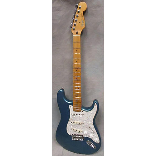 Fender Standard Stratocaster Lake Placid Blue Solid Body Electric Guitar-thumbnail