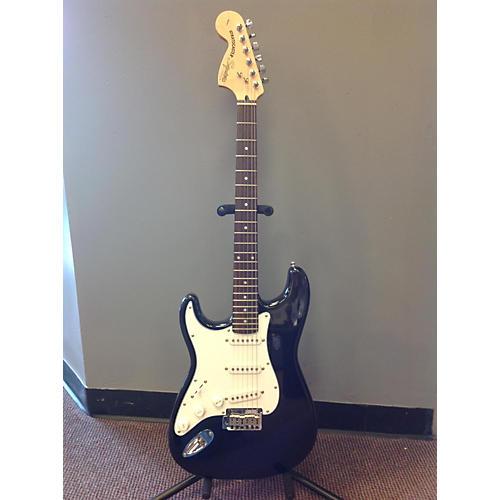 Squier Standard Stratocaster Left Handed Black Electric Guitar