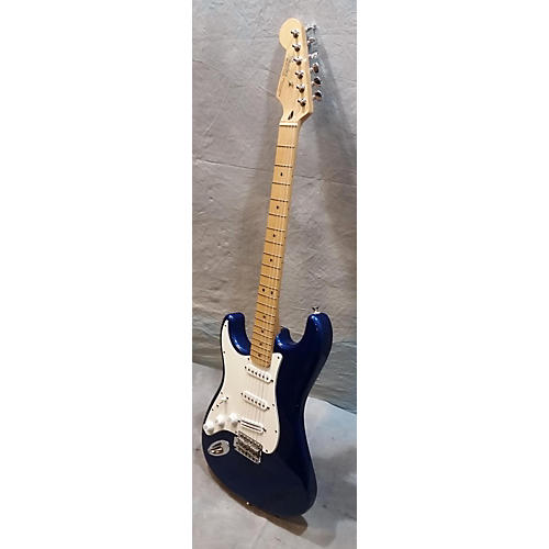Fender Standard Stratocaster Left Handed Blue Electric Guitar