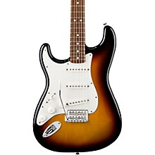 Standard Stratocaster Left Handed  Electric Guitar Brown Sunburst Rosewood Fretboard