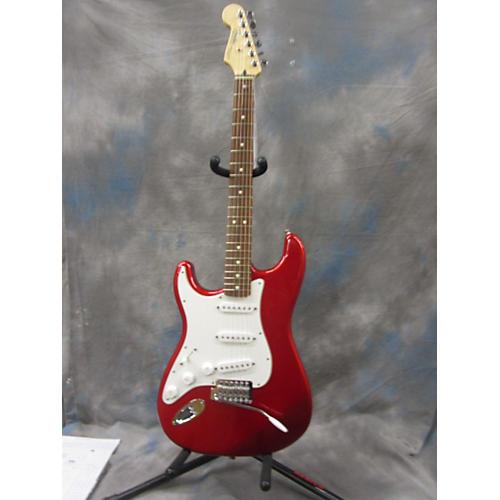 used fender standard stratocaster left handed electric guitar guitar center. Black Bedroom Furniture Sets. Home Design Ideas