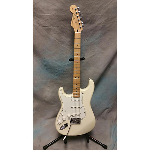Fender Standard Stratocaster Left Handed Olympic White Electric Guitar
