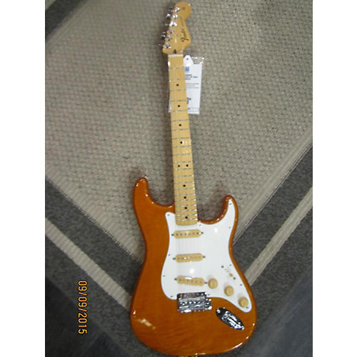 Fender Standard Stratocaster Plus Top Solid Body Electric Guitar-thumbnail