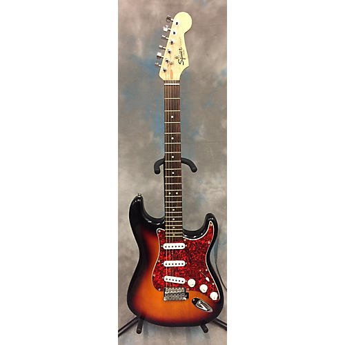 Squier Standard Stratocaster Solid Body Electric Guitar 2 Color Sunburst
