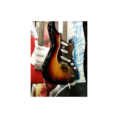 Fender Standard Stratocaster WITH TBX Solid Body Electric Guitar-thumbnail