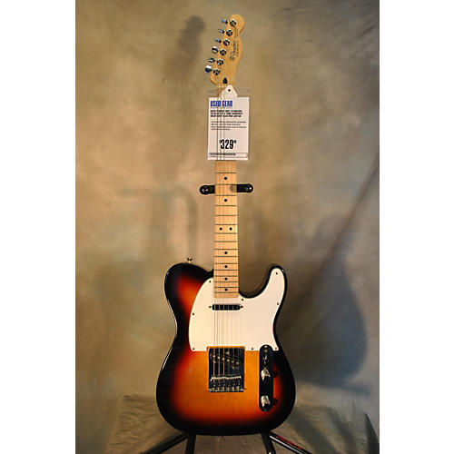 Fender Standard Telecaster 3 Tone Sunburst Solid Body Electric Guitar-thumbnail