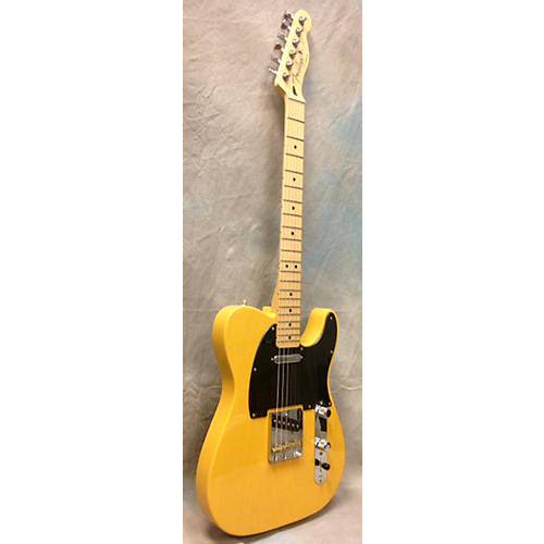 Fender Standard Telecaster Butterscotch Solid Body Electric Guitar-thumbnail