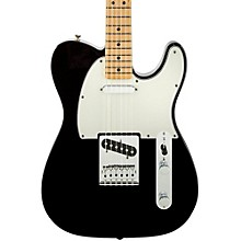 Standard Telecaster Electric Guitar Black Gloss Maple Fretboard