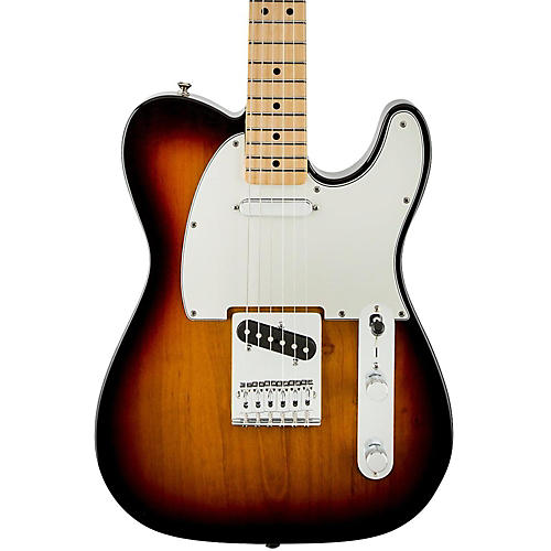 Fender Standard Telecaster Electric Guitar Brown Sunburst Gloss Maple Fretboard