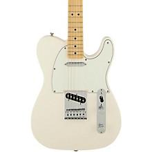 Fender Standard Telecaster Electric Guitar Level 1 Arctic White Gloss Maple Fretboard