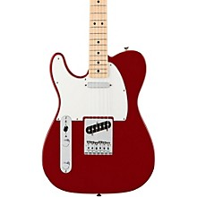 Standard Telecaster Left Handed  Electric Guitar Candy Apple Red Gloss Maple Fretboard