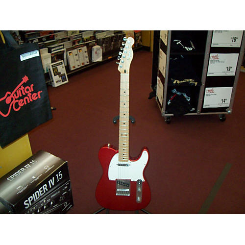 Fender Standard Telecaster Red Solid Body Electric Guitar