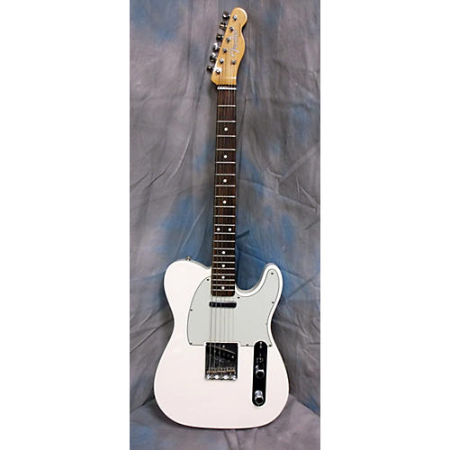 Fender Standard Telecaster White Solid Body Electric Guitar-thumbnail
