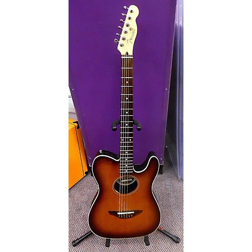 Fender Standard Telecoustic Acoustic Electric Guitar-thumbnail