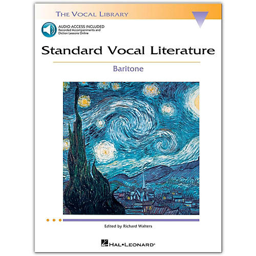 Hal Leonard Standard Vocal Literature - An Introduction To Repertriore for Baritone (Book/Online Audio)