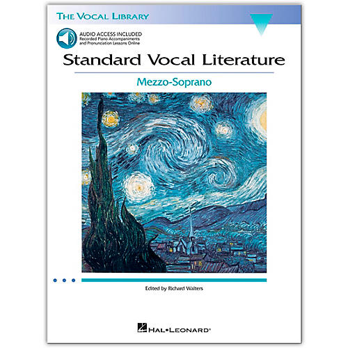Hal Leonard Standard Vocal Literature - An Introduction To Repertriore for Mezzo Soprano (Book/Online Audio Access)