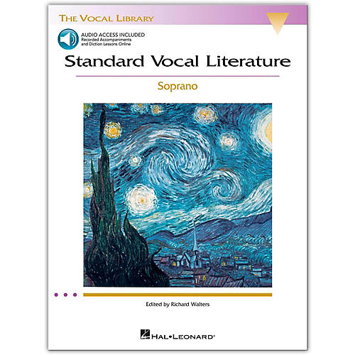Hal Leonard Standard Vocal Literature - An Introduction To Repertriore for Soprano (Book/Online Audio)-thumbnail