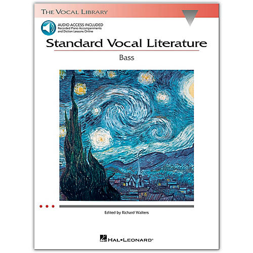 Hal Leonard Standard Vocal Literature for Bass Voice Book/2CD's