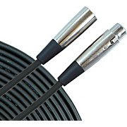 Standard XLR Microphone Cable 20 ft. Black