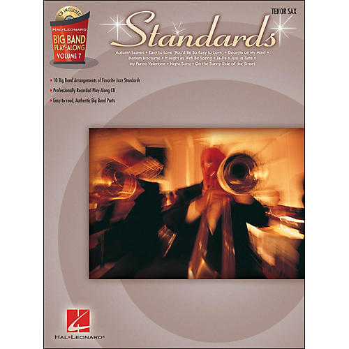 Hal Leonard Standards - Big Band Play-Along Vol. 7 Tenor Sax