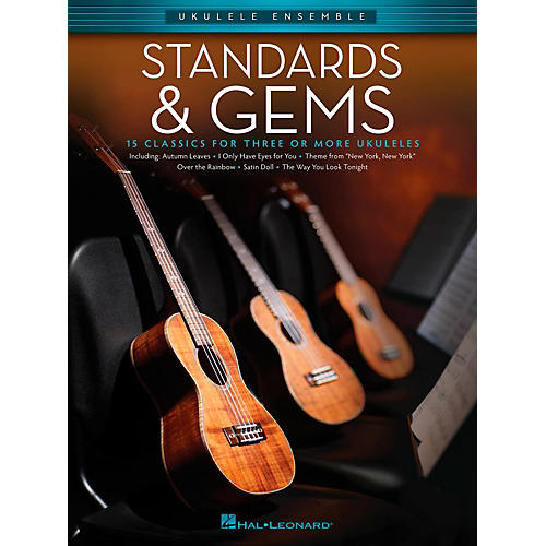 Hal Leonard Standards & Gems - Ukulele Ensemble Series Early Intermediate Songbook-thumbnail